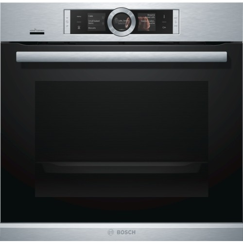 Single Touch Control Oven in Stainless Steel