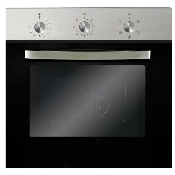 59ltr 5 Function Single Electric Fan Oven In Stainless