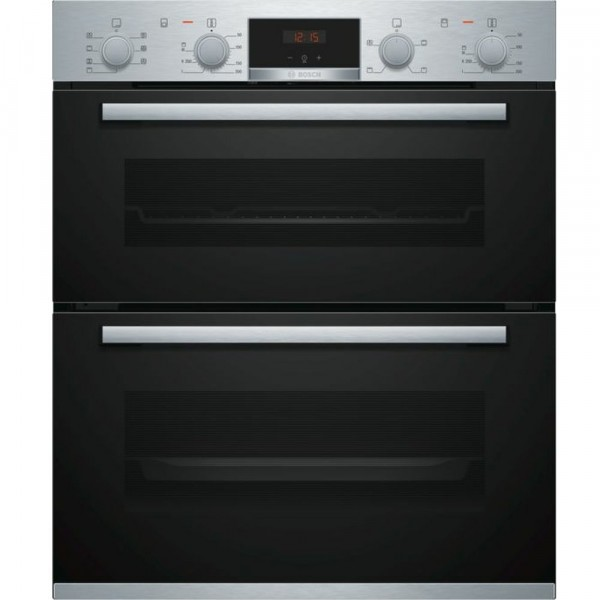 Built Under Multifunction Double Oven In Stainless Steel