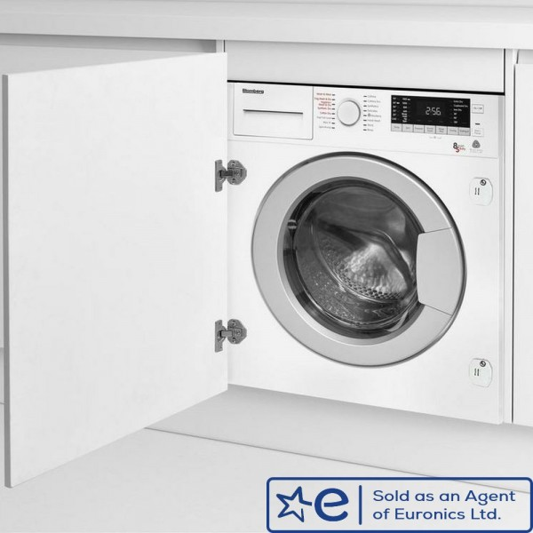 8kg Wash, 5kg Dry, 1400rpm Integrated Washer Dryer