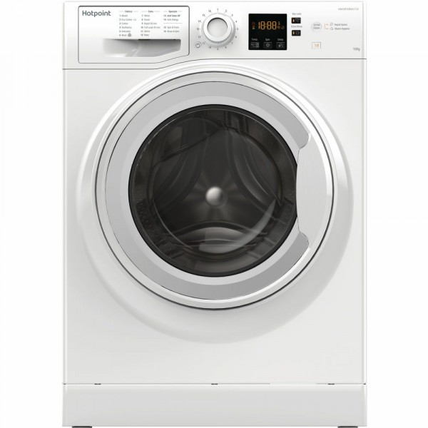 10kg 1400rpm A+++ Washing Machine In White