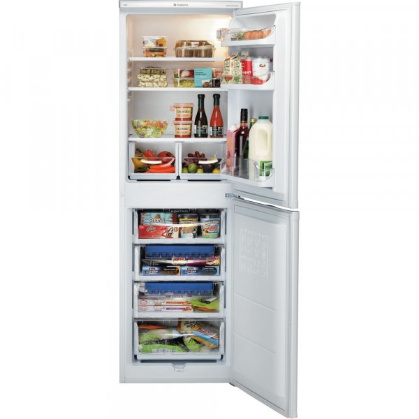 55cm Wide 174cm Tall Fridge Freezer In White