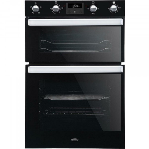 Built In Electric Double Oven In Black