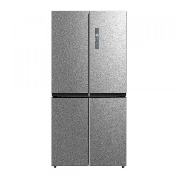83cm Wide Frost Free 4 Door Fridge Freezer In Inox