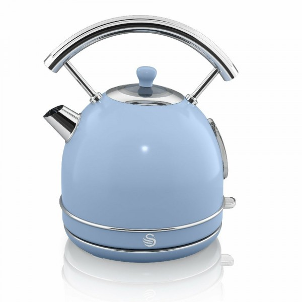 1.8ltr Retro Dome Kettle In Blue