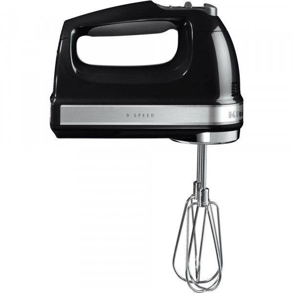 9 Speed Hand Mixer In Onyx Black