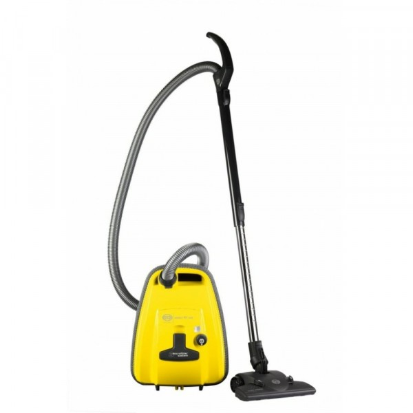 890w Bagged Cylinder Vacuum Cleaner In Yellow