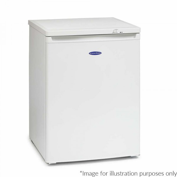 60cm Wide 98ltr Undercounter Freezer In White