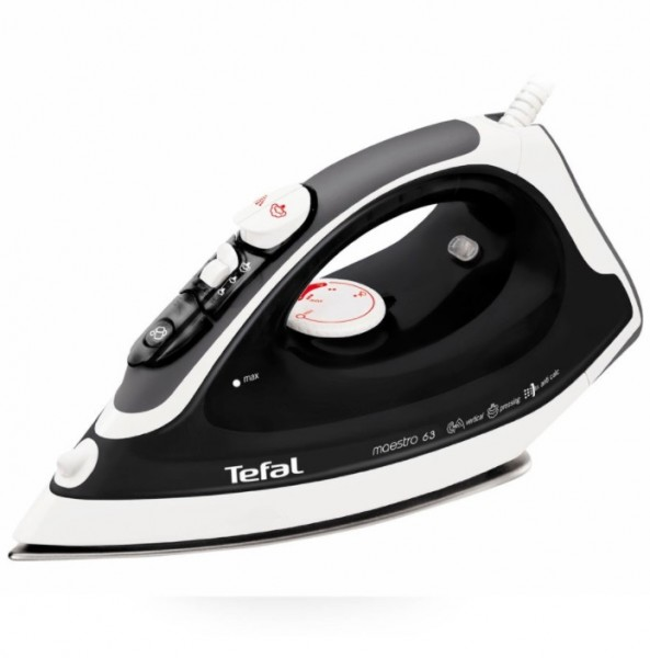 Variable Steam Iron with Stainless Steel Sole Plate