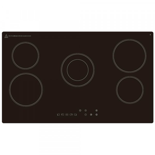 86cm 5 Zone Ceramic Hob With Touch Controls