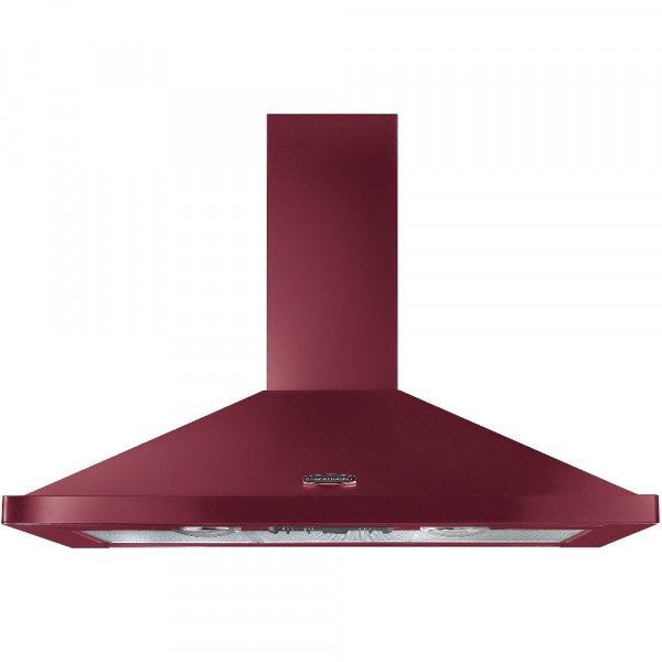 100cm Chimney Hood In Cranberry