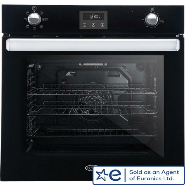 70ltr Built In Multifunction Single Oven In Black