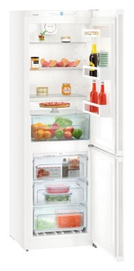 No Frost 186cm White Fridge Freezer A++