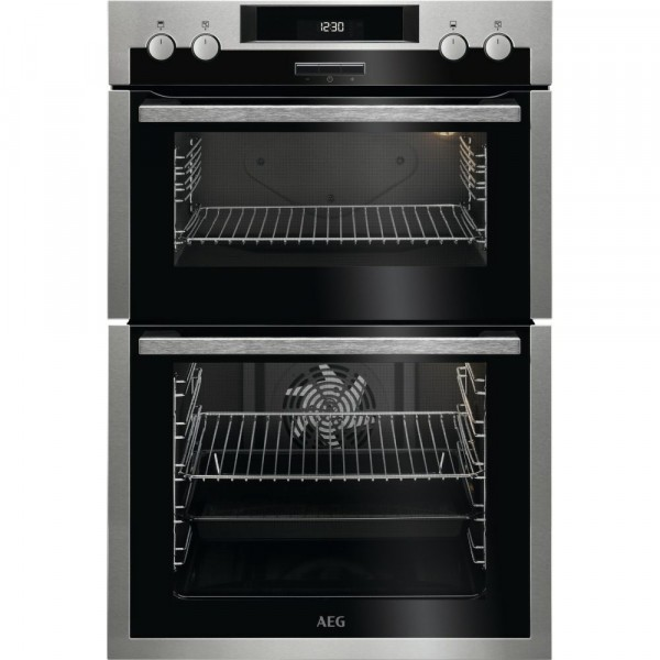 Built-in Double Oven in Stainless Steel A Rated