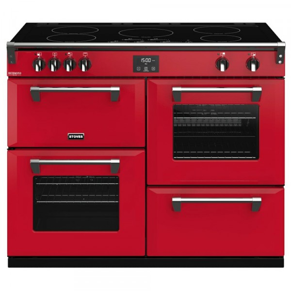 110cm Richmond Deluxe Induction Range Cooker In Jalapeno