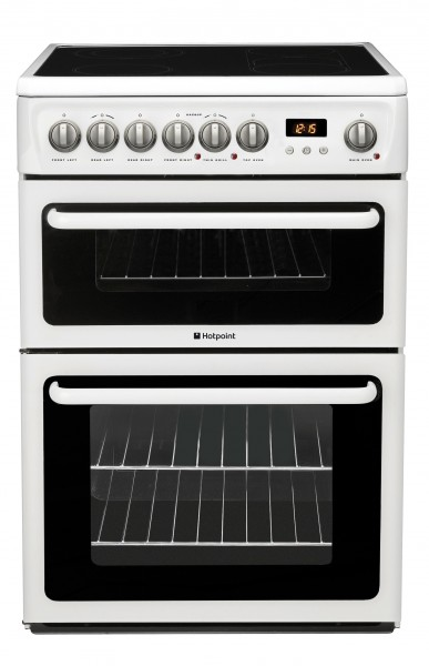 60cm Double Oven With Ceramic Hob