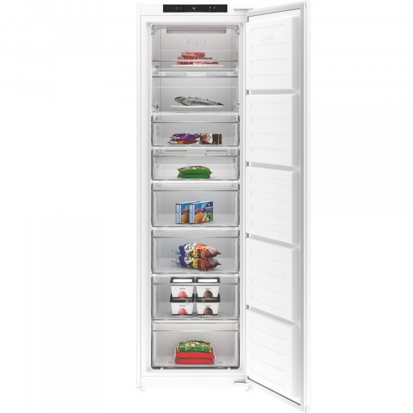 54cm Wide Frost Free Integrated Freezer In White
