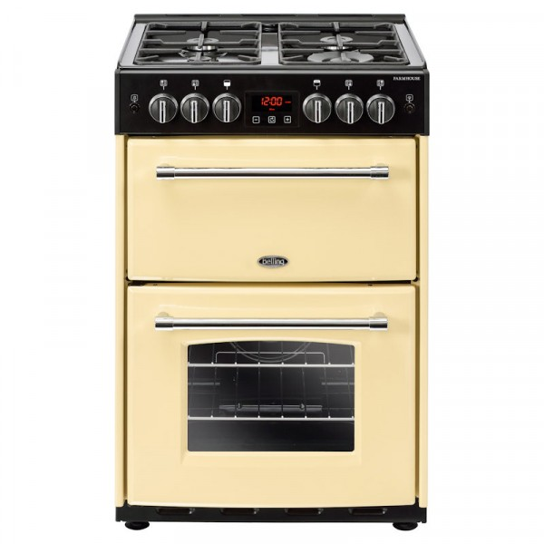 Farmhouse 60cm Gas Cooker In Cream