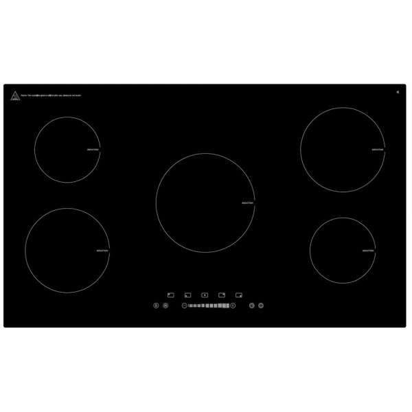 86cm 5 Zone Induction Hob With Touch Controls