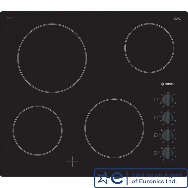 4 Zone Ceramic Hob With Dial Controls