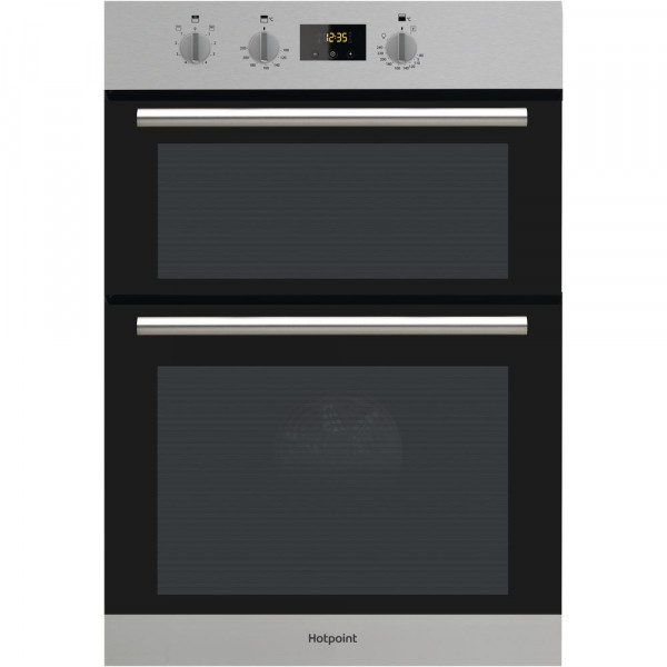 Built In Double Oven In Stainless Steel