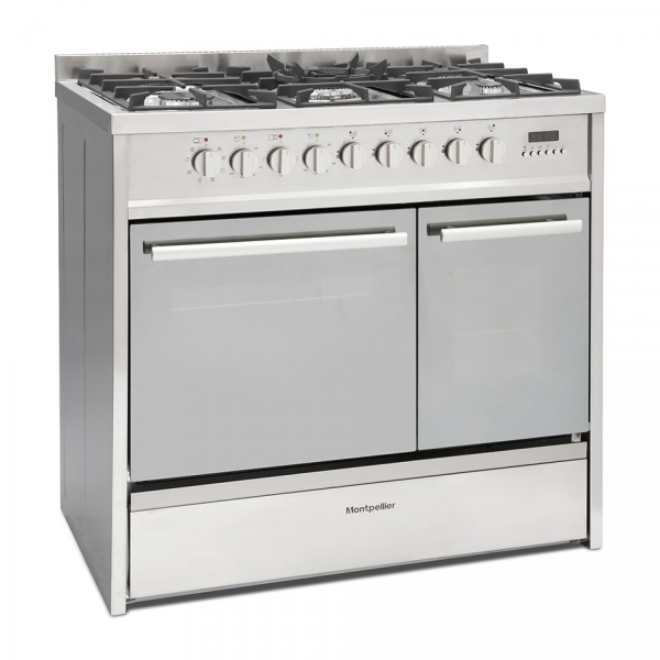 90cm Dual Fuel Range Cooker With 2 Ovens