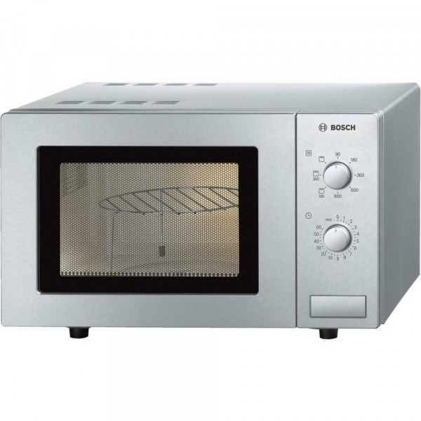 17ltr 800w Manual Microwave In Stainless Steel