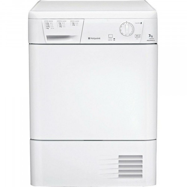 7kg Condenser Tumble Dryer In White