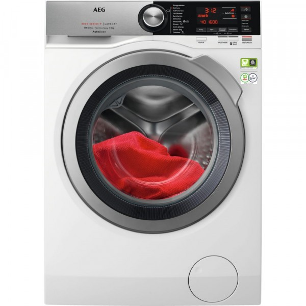 9kg 1600rpm A+++ Washing Machine With AutoDose And Smart In White