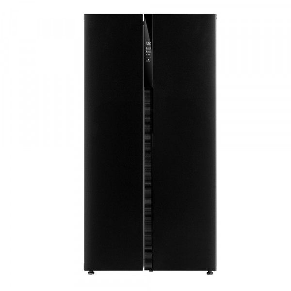 179cm Tall 90cm Wide American Fridge Freezer In Black