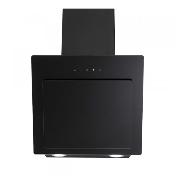 50cm 3 Speed Black Slanted Chimney Hood