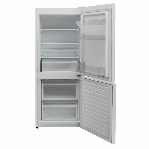136cm Tall Static Fridge Freezer in White
