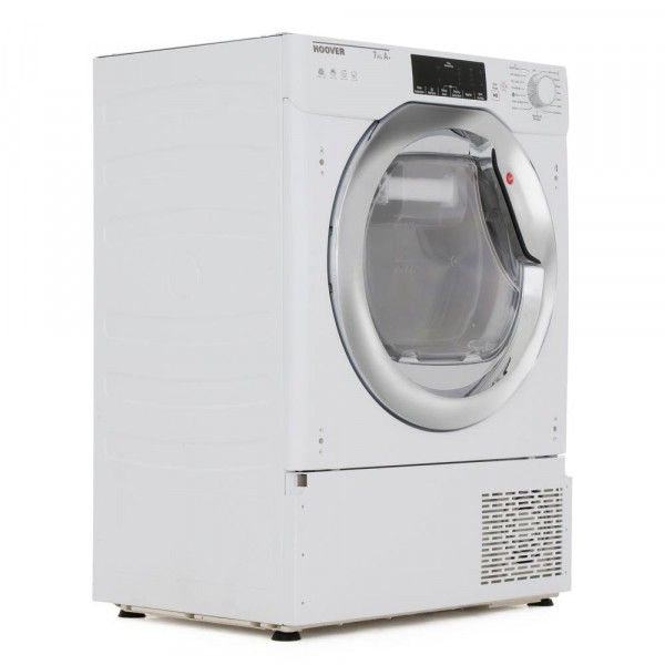 Hoover H7A1TCE-80 Integrated Condenser Dryer with Heat Pump Technology