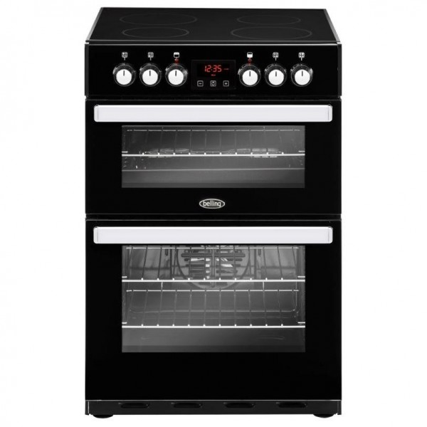Belling Cookcentre 60E Black Ceramic Electric Cooker