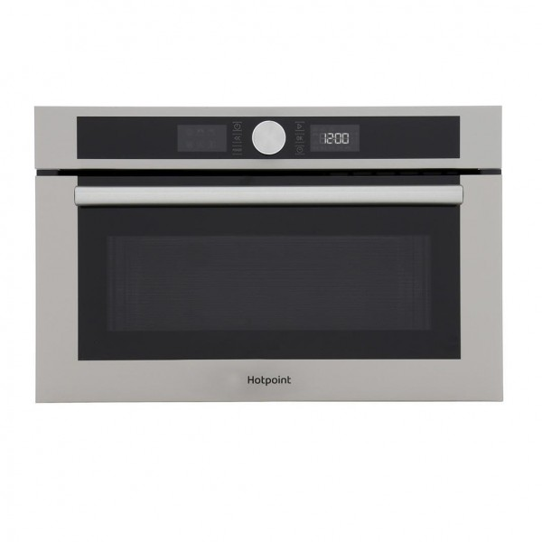 Hotpoint MD454IXH Built In Microwave with Grill