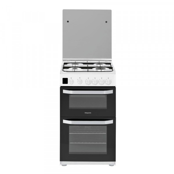 Hotpoint HD5G00CCWUK Gas Cooker with Double Oven