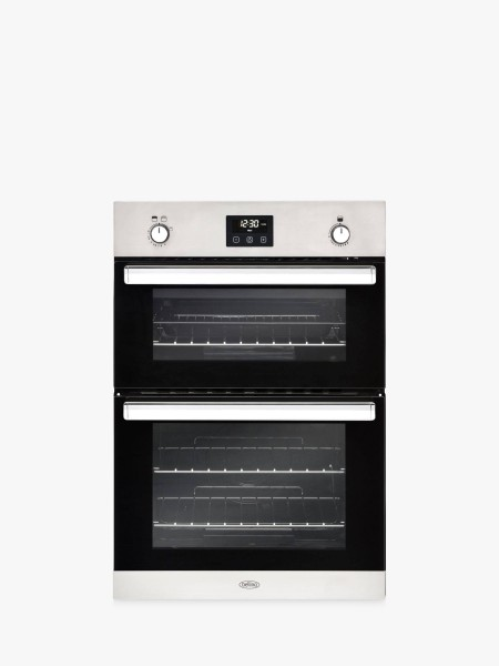 Belling BI902G Sta Double Built In Gas Oven