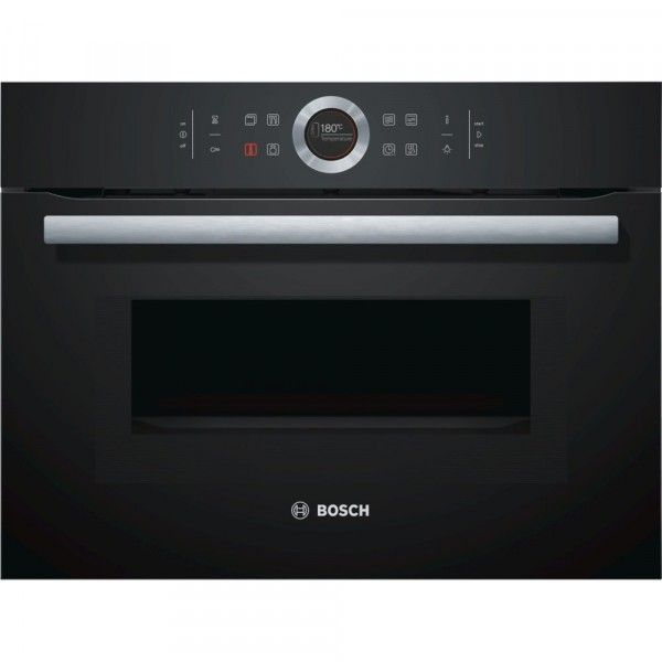 Bosch Serie 8 CMG633BB1B Built In Combination Microwave