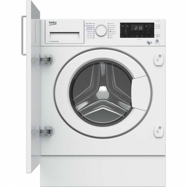 Beko WDIY854310F 8kg/5kg Integrated Washer Dryer