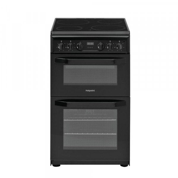 Hotpoint HD5V93CCBUK Electric Cooker with Double Oven