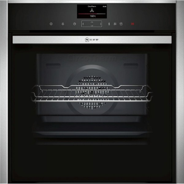 Neff N90 B47VS34H0B Single Built In Electric Oven