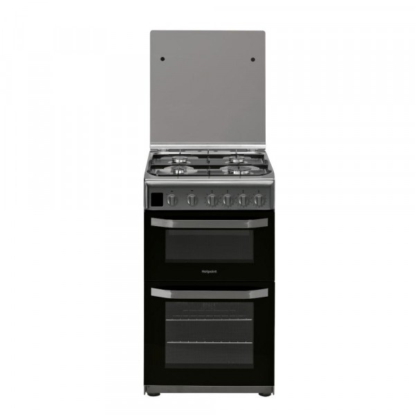 Hotpoint HD5G00CCX/UK Gas Cooker Separate Grill