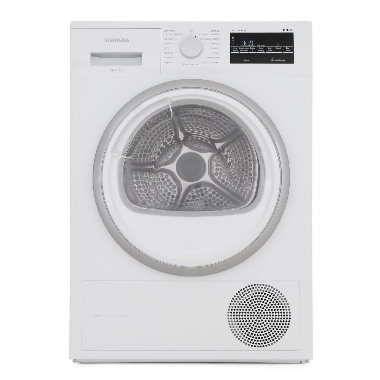 Siemens iQ500 WT45W492GB iSensoric Condenser Dryer