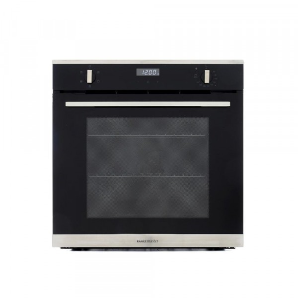 Rangemaster RMB605BLSS Stainless Steel Single Built In Electric Oven