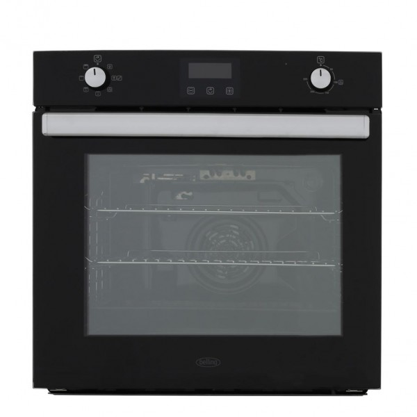 Belling BI602FPCT Black Single Built In Electric Oven