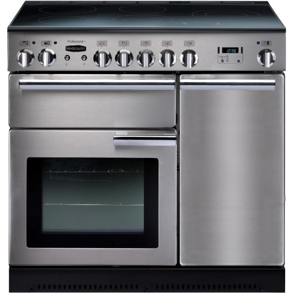 Rangemaster PROP90EISS/C Professional Plus 90cm Electric Induction Range Cooker