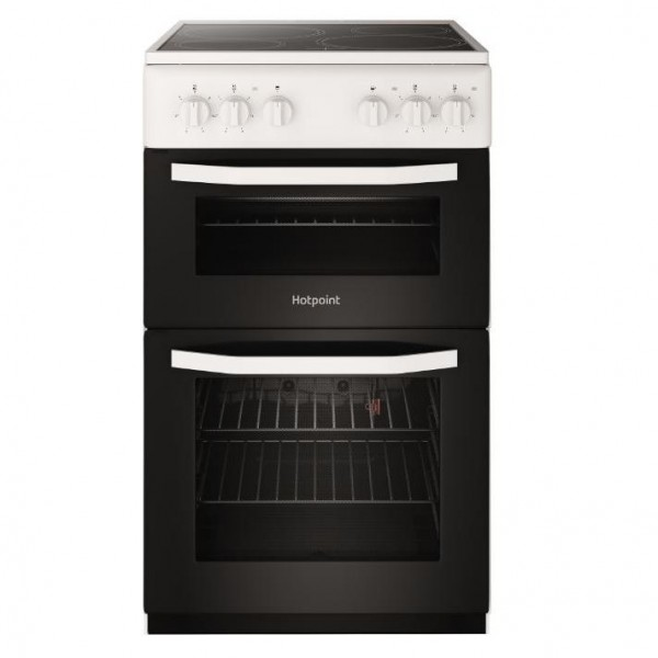 Hotpoint HD5V92KCW/UK Ceramic Electric Cooker