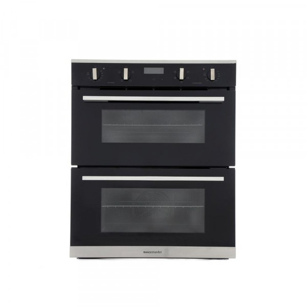 Rangemaster RMB7245BLSS Stainless Steel Double Built Under Electric Oven