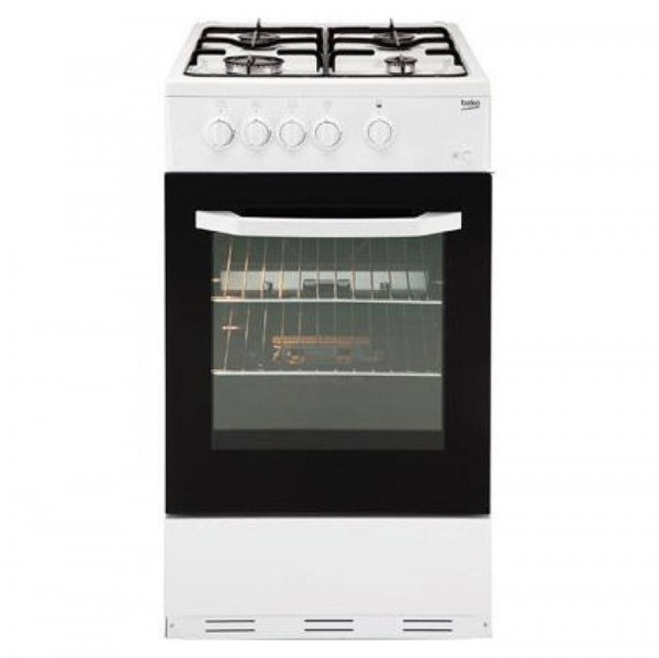 Beko ESG50W Gas Cooker with Single Oven