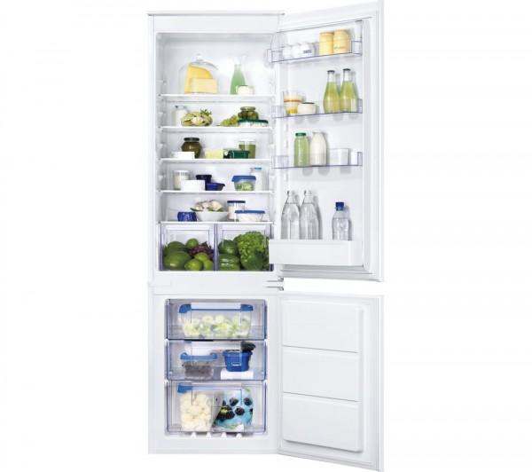 Zanussi ZBB28651SV Integrated Fridge Freezer